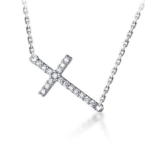 925 sterling silver fashion pendant lock bone necklace wedding party exquisite jewel DA1866