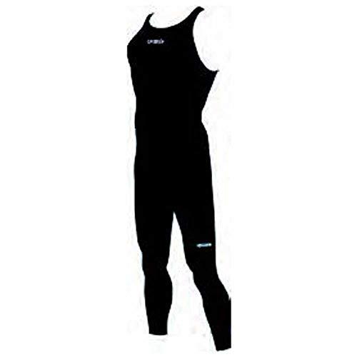 Speedo Fastskin LZR Elite Openwater Closedback Male Body Neoprenanzug für Herren S schwarz/Leuchtend grün/weiß