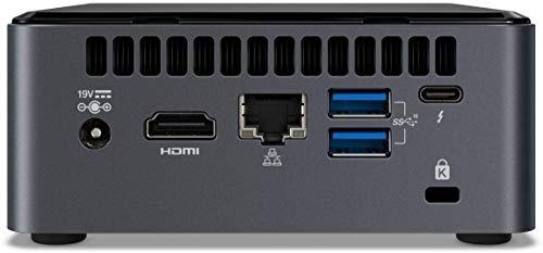 Intel Nuc Mini Komplett PC, Intel Hexa Core i7 6 x 4,70 GHz, 24 GB RAM, 1000 GB SSD, USB 3.1, HDMI, Intel UHD Grafik, 4K Aufloesung, 3 Jahre Herstellergarantie, Windows 10 Pro
