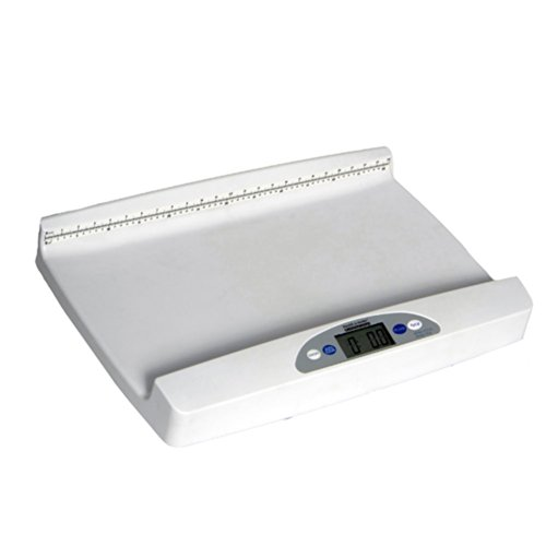 Health o Meter 553Kl Digital Portable Pediatric Baby Scale with Extra-Wide Tray, 44 Lb X 0.5 Oz