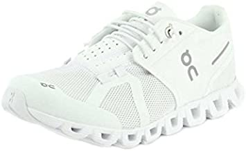 ON Running Womens Cloud Mesh All White Trainers 9.5 US