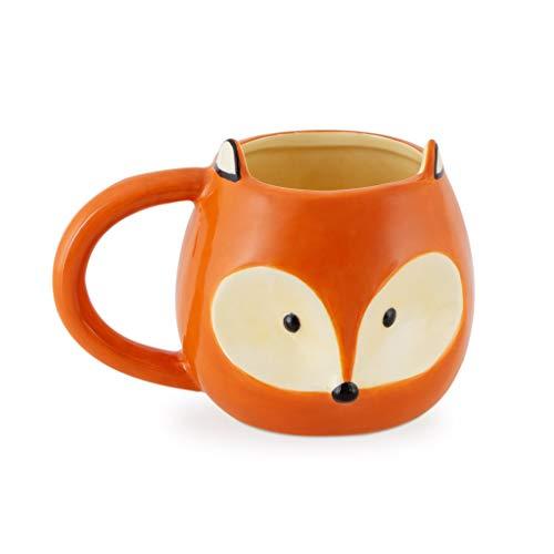 balvi Fox Cup Tasse mit Fuchs Gesicht Fassungsvermögen: 482 ml Keramik