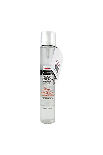 Aquolina Le Gourmand Florals Scented Body Water - White Chocolate & Orchid cream puff 150ml