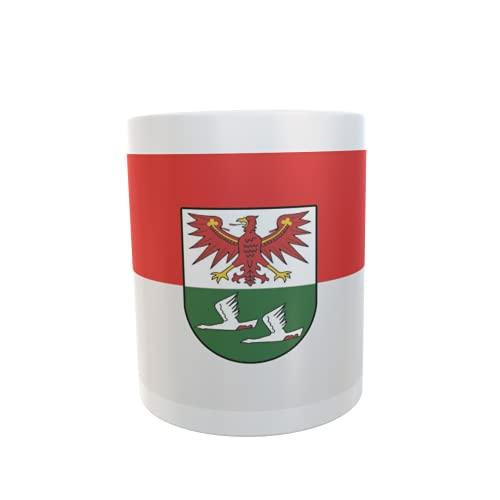 U24 Tasse Kaffeebecher Mug Cup Flagge Landkreis Oberhavel