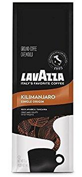 Lavazza Premium Drip Coffee - Kilimanjaro, 12-Ounce (Pack of 2)