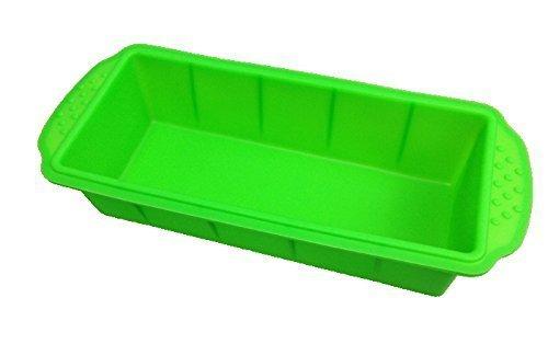GMMH Original - Molde de Silicona para Hornear con Forma de cajón Rectangular - Verde