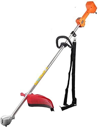 VIVOCC Cortacésped inalámbrico de 24 V, cortadora de césped de jardín, bajo ruido, cortadora de césped para césped, arroz, arbustos, maíz, malas hierbas (color: motor sin escobillas 24 V)