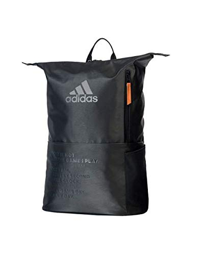 Adidas Padel Vintage Mochila Adidas Padel MultiGame Negro Ambar 2020, Unisex Adulto,...