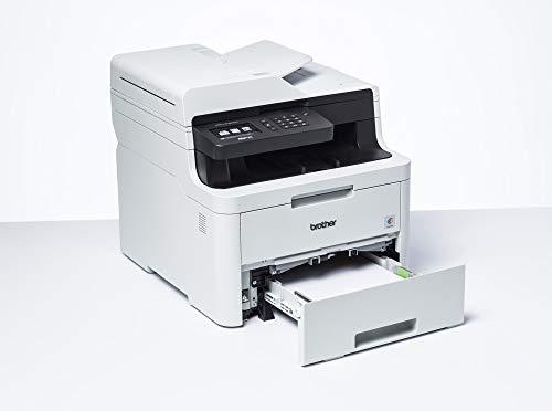 Brother MFC-L3730CDN Kompaktes 4-in-1 Farb-Multifunktionsgerät (18 Seiten/Min.) weiß