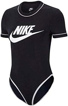 Nike Sportswear Heritage Bodysuit Body Color Negro para Mujer