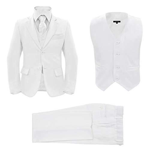 Geniet van winkelen met Driedelig kostuum voor kinderen maat 92/98 wit
