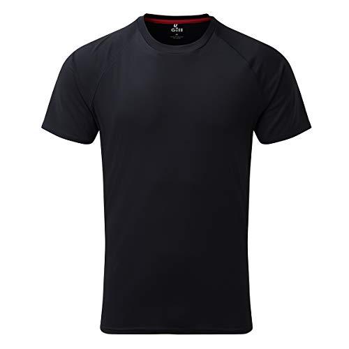 Gill Mens UV Tec Crew Neck T-Shirt 2019 - Navy L