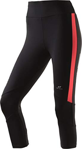 Pro Touch Damen Overknee Canelita II Tights, Black/Red, 40