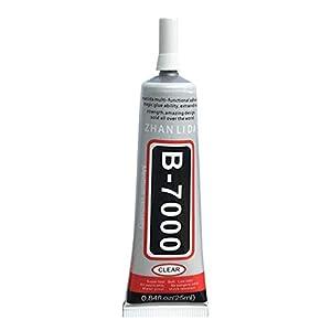 RoxTop B-7000 multipropósito adhesivo industrial joyería artesanal Rhinestone cristal Pegamento (al azar)
