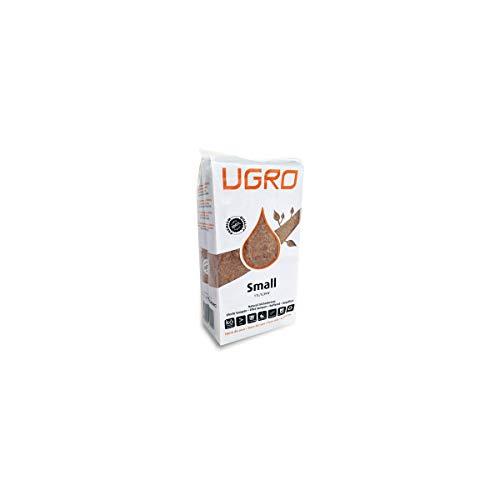 Substrat/Block/Briques en fibre de coco séchée U-Gro Small (750 g-11 l)