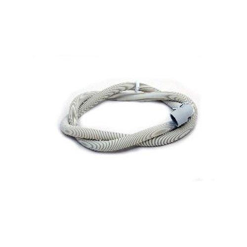 Tuyau flexible d'évacuation Electra Hotpoint Indesit Philco pour lave-vaisselle Ariston Creda (Pièce d'origine numéro C00054869)