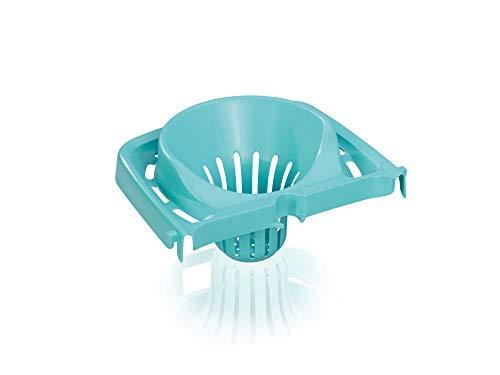 Leifheit Auspress-Sieb Classic Mop für den Leifheit Eimer Combi, komfortables Auspressen ohne Hände im Schmutzwasser und ohne Bücken, einfache Bodenreinigung, Presssieb