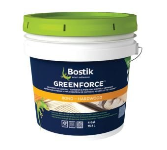 Bostik GreenForce 0 VOC Adhesive, 4 Gallons