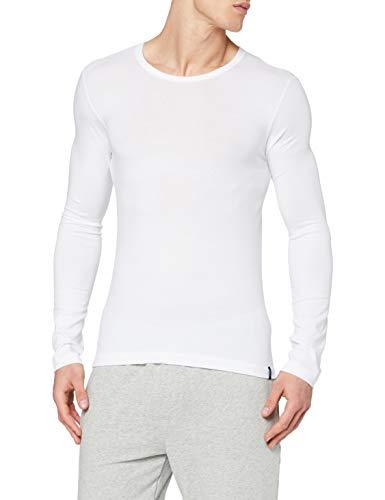 Schiesser Herren Shirt 1/1 Arm Unterhemd, Weiß (100-weiss), 6
