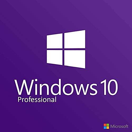 Windows 10 Professional 32/64 bits Licencia | Clave Español | Clave de Activación Original | Español | 100% de garantía de activación | Entrega 1h-6h por correo electrónico