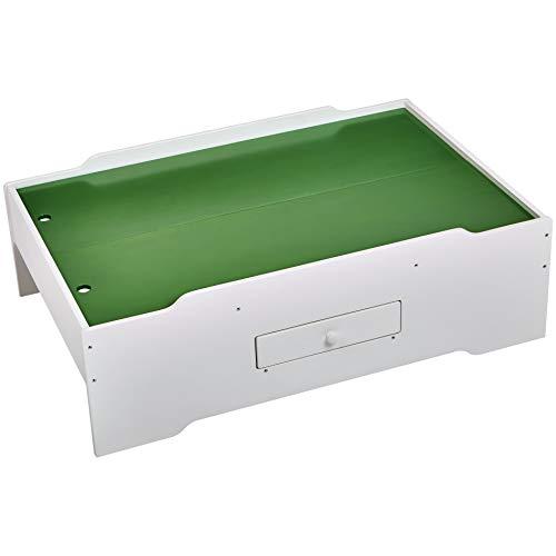 Amazon Basics Wooden MultiActivity Play Table White