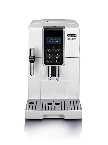 【アドバンスモデル】デロンギ(DeLonghi) コンパクト全自動コーヒーメーカー ディナミカ ミルク泡立て手動 ホワイト ECAM35035W