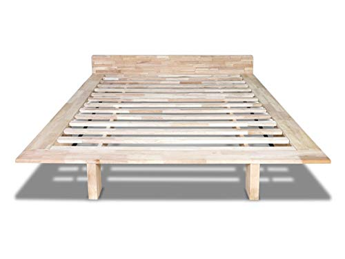 Futon On Line Cama Milano, Natural, 140 x 200 cm.