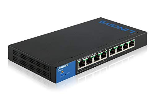 Linksys LGS308P Gestionado Gigabit Ethernet 10/100/1000