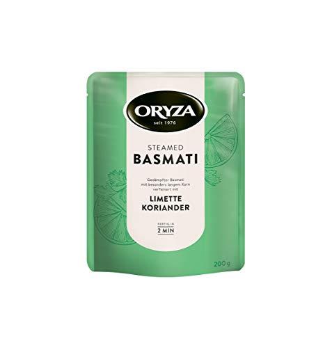 Steamed Basmati Limette & Koriander Reis 200g MHD:7/20