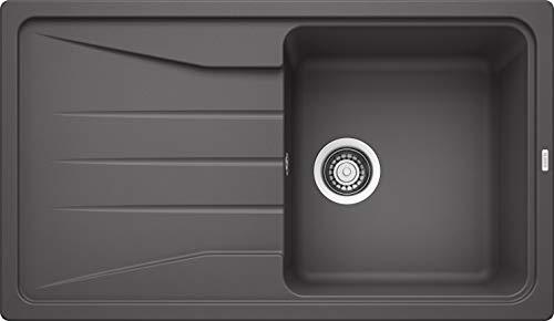 BLANCO Sona 5 S, Küchenspüle, Silgranit Puradur, felsgrau, reversibel, 1 Stück, 519672