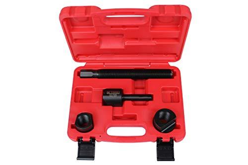 K Tool International Dual Wheel Separator One Piece Pusher Wheel hub Removal Tool, 11 Threads, Perfect for Dually Wheels, Truck, Bus, Van or Trailer KTI70385