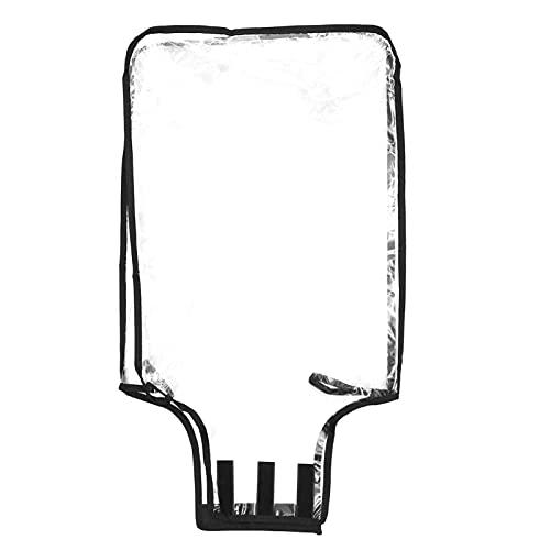 Lurrose 1pc PVC trasparente bagagli copertura impermeabile valigia Protector per valigia ruote