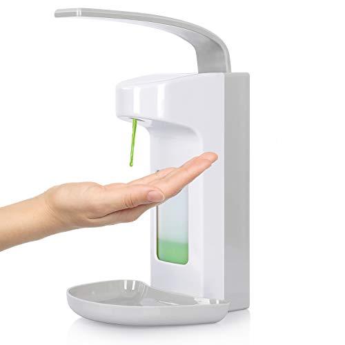 kejun 500ml WandSpender Eurospender Seifenspender Wandmontage Desinfektionsmittelspender Handseifenspender Armhebelspender…