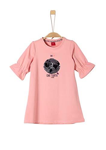 s.Oliver Mädchen 53.908.82.2978 Kleid, Rosa (Light Pink 4273), 110 (Herstellergröße: 110/REG)