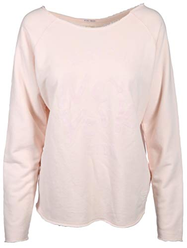 Better Rich Damen Sweatshirt im Used Look Größe XL Rot (rosa)