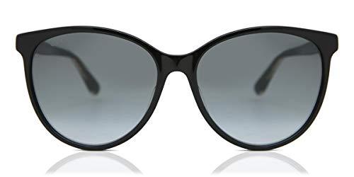 Gucci Occhiali da Sole GG0377SK Black/Grey Shaded 57/16/145 donna