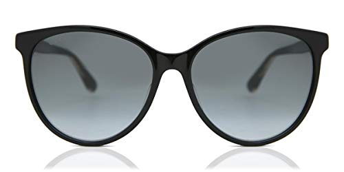 Gucci GG0377SK Black/Crystal/Grey Gradient One Size