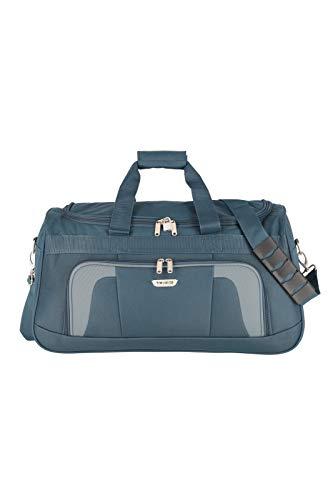 Travelite Reisetasche 58 cm mit Schultergurt, Gepäck Serie ORLANDO: Klassische Weichgepäck Reisetasche im zeitlosen Design, 098486-20, 50 Liter, 0,9 kg, marine (blau)