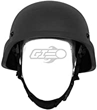 Lancer Tactical ACH MICH 2000 Helmet (Black/L - XL)