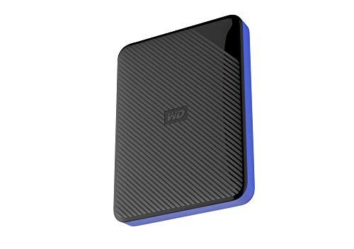 Western Digital Gaming Drive - Disco duro externo portátil para PlayStation 4 de 2 TB, color negro 2