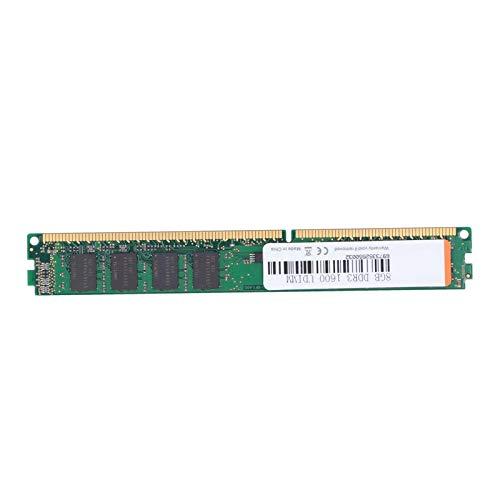 Zunate Módulo de Memoria, 4GB / 8GB DDR3 PC3-12800 1600MHz 240Pin PC Módulo de Memoria de Escritorio para computadora RAM dedicado, Totalmente Compatible con Intel/para AMD(8GB)