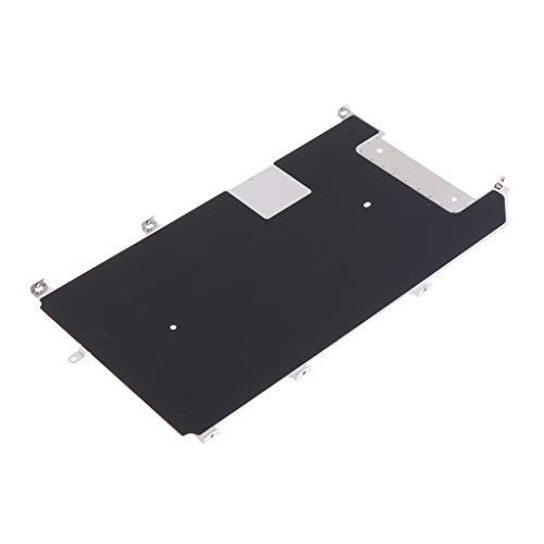 B Blesiya Pieza de Reparación de Placa de Pantalla LCD con Pantalla de Metal Principal + Cable Flexible para 8 Plus - iPhone 6S Plus