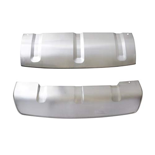wotefusi Avant arrière inférieur Pare-Chocs Skid plaques Garde