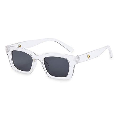 Gafas de sol Moda Retro Rectángulo Gafas De Sol Plazas Marco De Conducción Gafas De Sol Gafas De Conductor Gafas Uv400 Protection Eyeglasses
