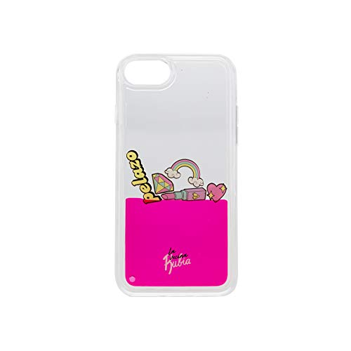 La Vecina Rubia Funda Smartphone - Transparente y Compatible con Apple IPhone 6 / 6S / 7 / 8