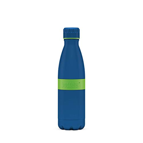 boddels Isolierflasche TWEE+ 500ml - Edelstahl doppelwandig, Vakuum isolierte Thermosflasche, Kohlensäure, Sprudel geeignet, Kindertrinkflasche für Schule, Sport, auslaufsicher, bruchsicher, BPA-frei