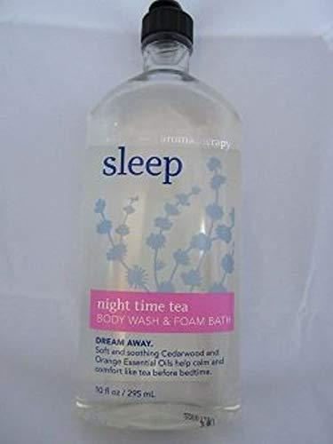 Bath & Body Works Aromatherapy Sleep Night Time Tea Body Wash & Foam Bath