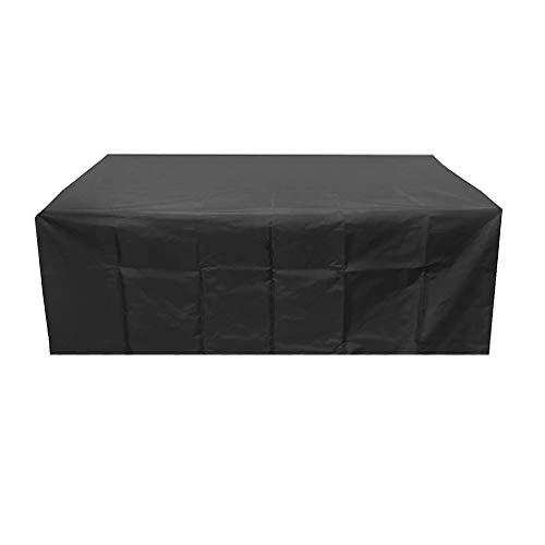 TIREOW 420D Oxford Polyester Extra Möbelbezüge Esstisch Schutzhülle 170 * 94 * 70CM Für rechteckige/ovale Esstische und Standardstühle (B)