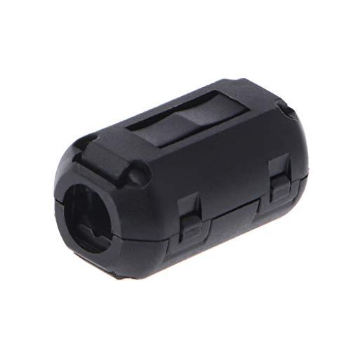 ZZALLLClip de Cable supresor de Ruido de núcleo de Anillo de ferrita con Clip para Cable de 3,5/5/7/9/13 mm - 9#