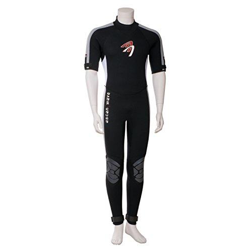 Ascan Wave Shortarmsteamer Kurzarm Neoprenanzug Surfanzug (50)